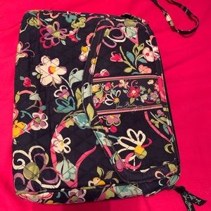 Vera Bradley Laptop Bag w/ Crossbody Strap